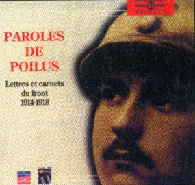 Commander le coffret 2 CD PAroles de Poilus